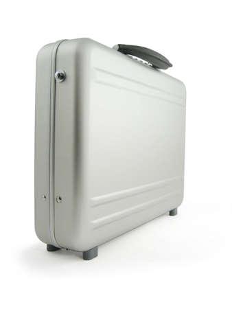 Metal suitcase, luggage