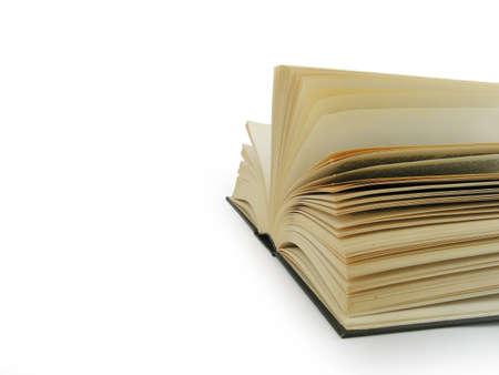 Big open book photo