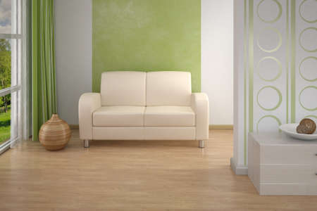 Design interior. Sofa in Modern living room. Stock Photo - 7916691