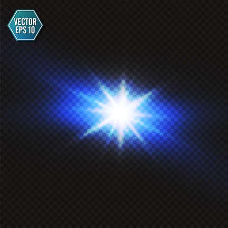 Blue color design with a burst. Vector illustration