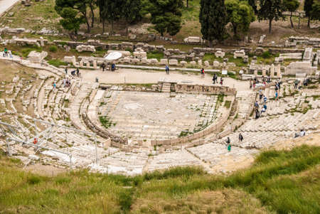 The Theatre of Dionysus Eleuthereus is a major theatre in Athens, built at the foot of the Athenian Acropolis