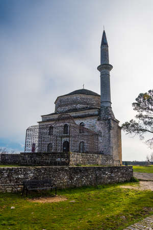 The Fethiye Mosque is an Ottoman mosque in Ioannina, Greece. The mosque was built in the citys inner castle (Its Kale) immediately after the conquest by the Ottomans in 1430, near the ruins of an early 13th-century Byzantine church dedicated to the Archangels Michael and Gabriel.