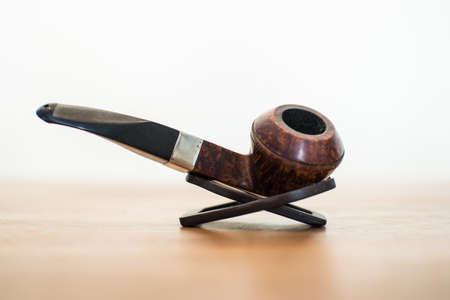 Close up of a smoking pipe
