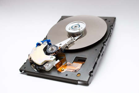 Hard drive isolated Stock Photo - 3854660