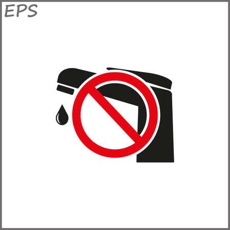 tap - vector icon Illustration