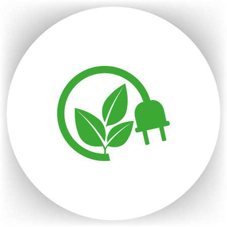 unplug: Electric plug icon. ton. Illustration