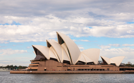 Sydney, Australia - July 11, 2010   The Iconic Sydney Opera House is a multi-venue performing arts centre also containing bars and outdoor restaurants