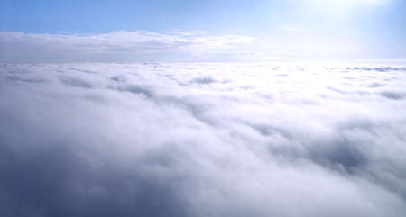 In Heaven - walking above the clouds