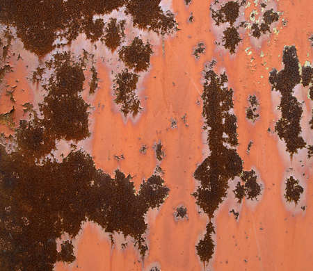Grunge rusty steel sheet with peeling, cracked paint Stock Photo - 4594701