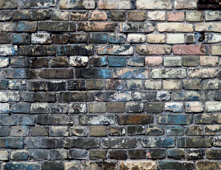 Detailed brick wall background - brick wall texture set #2 photo