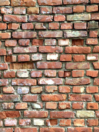 Detailed brick wall background - texture set #3 photo