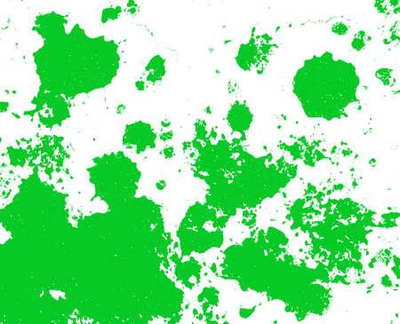 Green paint splatter background Stock Photo - 4708771