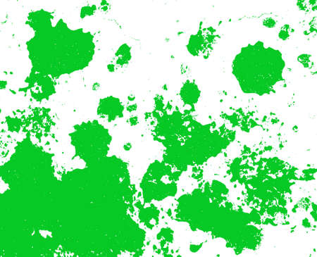Green paint splatter background