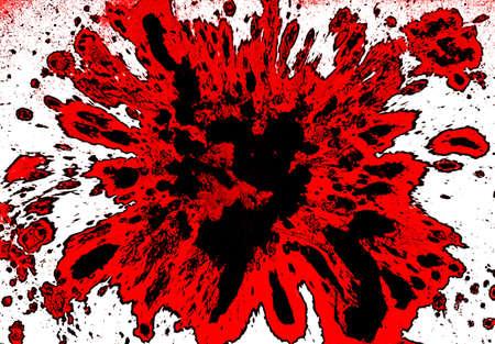Blood splatter photo