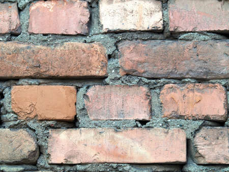 Detailed brick wall background - texture set #8 photo