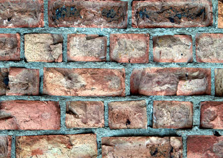 Detailed brick wall background - texture set #5 photo