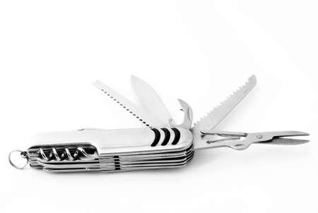 Multipurpose folding pocket knife
