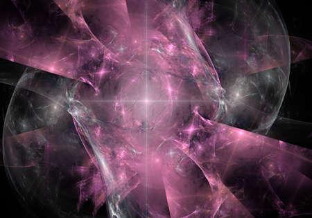Deep space supernova