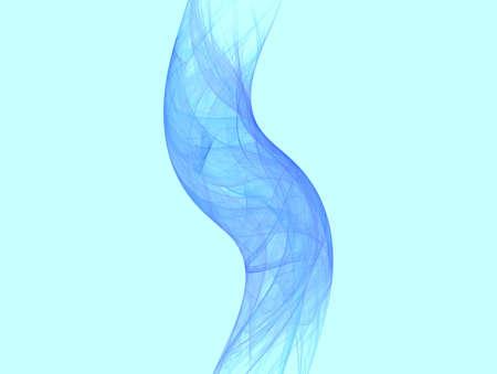 Blue smoke tube