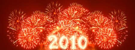 Fireworks - wide xxl sized image