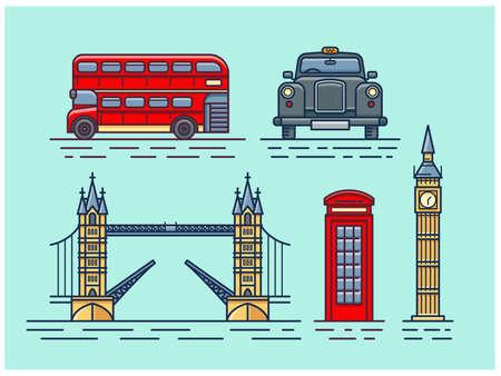 Attracties in Londen.