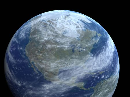 interplanetary: our planet Stock Photo