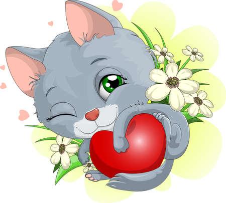 plush:  kitten