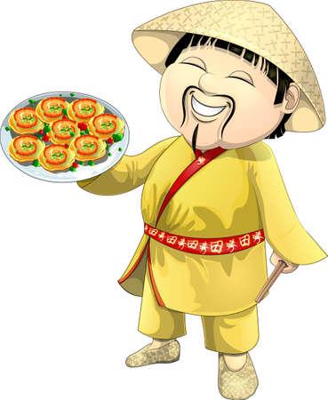 Asian cook Banco de Imagens - 23011321