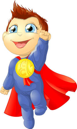 super child Banco de Imagens - 23285015