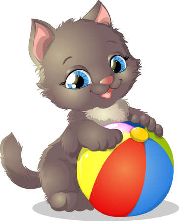 kitten Illustration