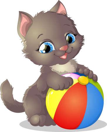kitten 向量圖像