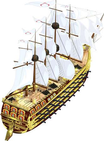 frigate: frigate Illustration