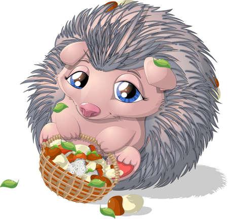 hedgehog Illustration