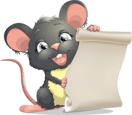 little mouse Vector
