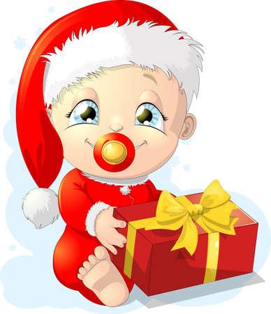 baby santa Illustration