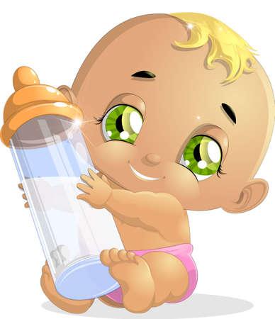 baby diaper: baby
