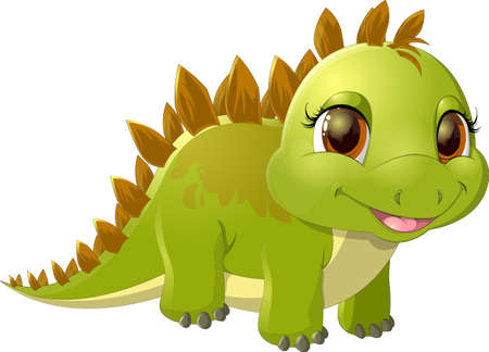 which: beautiful dinosaur which is drawn on a white background