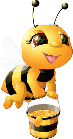 Image result for images of cartoon busy bees