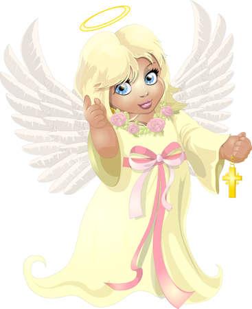 miraculous: beautiful angel girl Illustration
