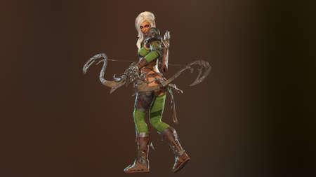 High Demon 3d render