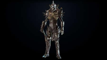 3D render Necromancer