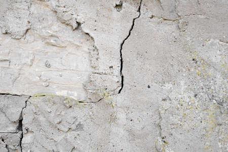 alte Steinstruktur grün in einem Käfig, von der Zeit verdorben Standard-Bild
