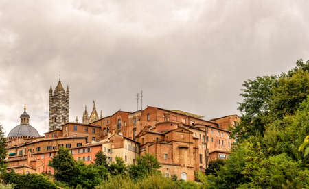 Siena Cathedral at Santa Maria Assunta city, Tuscany