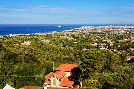 Livorno city Tuscany Mediterranean Sea Stock Photo