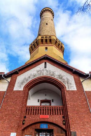 Lighthouse Swinemunde tower