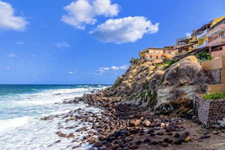 Castelsardo Mediterranean coast town