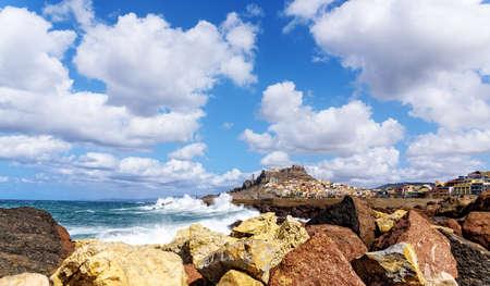 Rock Castelsardo Mediterranean Sea