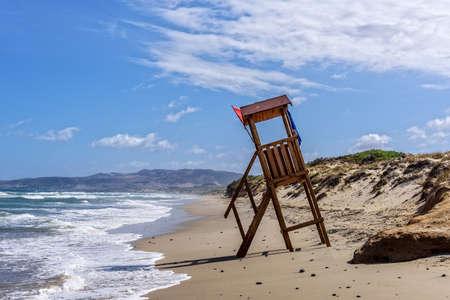 Spiaggia della Marina di Sorso Lifeguard tower