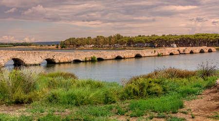 Bridge River Camping Sardinia