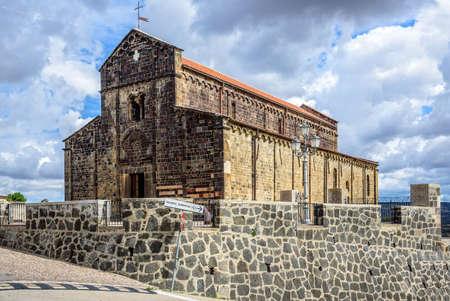 Santa Maria del Regno Logudoro church Sardinia